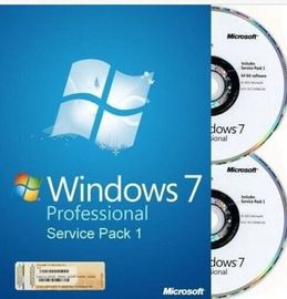 China Englischer/Franzose-Microsoft Windows 7 Berufs-Soem-Kasten Soem-Schlüssel SP1-64Bit DVD fournisseur