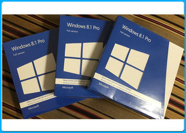 China Siegel- Einzelhandels-Kasten Windows 8,1, Microsoft Windows 8,1 Pro-32 64 Bit-englische Sprache fournisseur