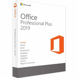 China 100% on-line-Aktivierung Microsoft Office 2019 Pro plus Schlüssel, Fachmann MS Offices 2019 plus mehrfachen Sprachcode fournisseur