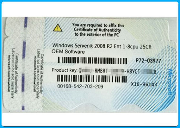 Ursprünglicher Software-Microsoft Windows-Server 2008, Windows Server Soem-Schlüssel 2008