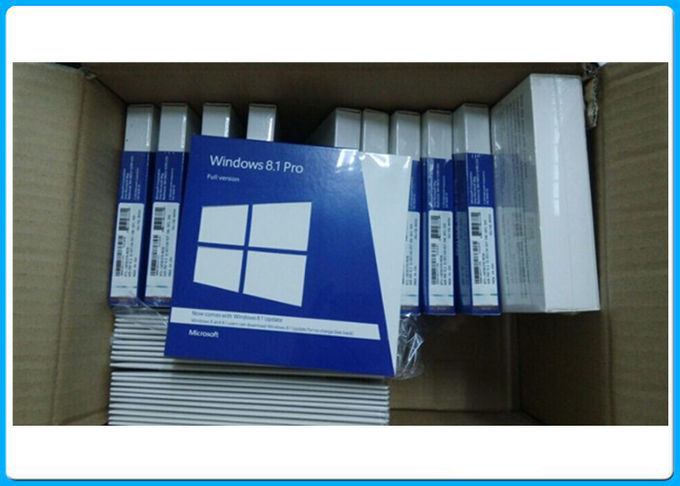 Siegel- Einzelhandels-Kasten Windows 8,1, Microsoft Windows 8,1 Pro-32 64 Bit-englische Sprache